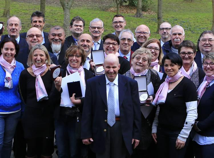 FFR : Les bénévoles à l'honneur