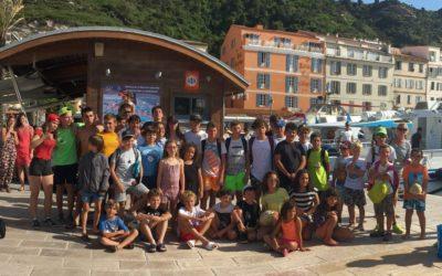 L'école de rugby du PVXV passe la fête des pères aux îles Lavezzi