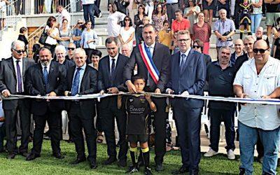Inauguration du stade de Lumio