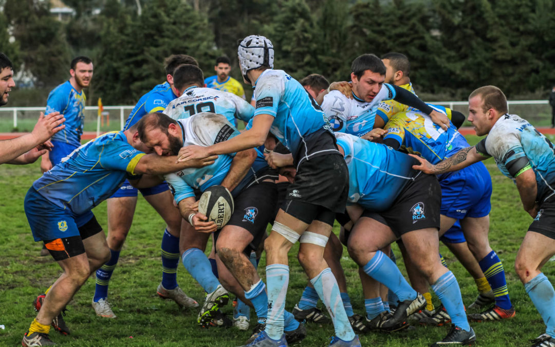 Le RC Ajaccio s'offre Les Pennes-Mirabeau et le bonus