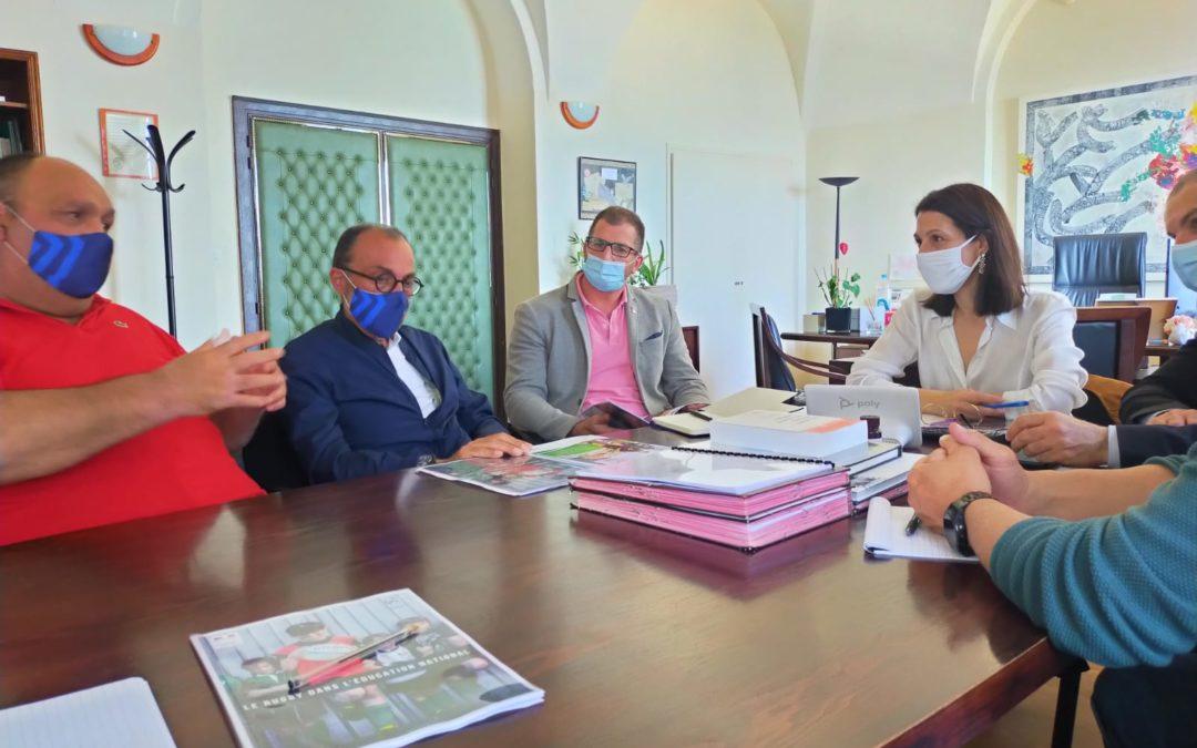 Point d'étape sur le protocole de collaboration avec le Rectorat De Corse